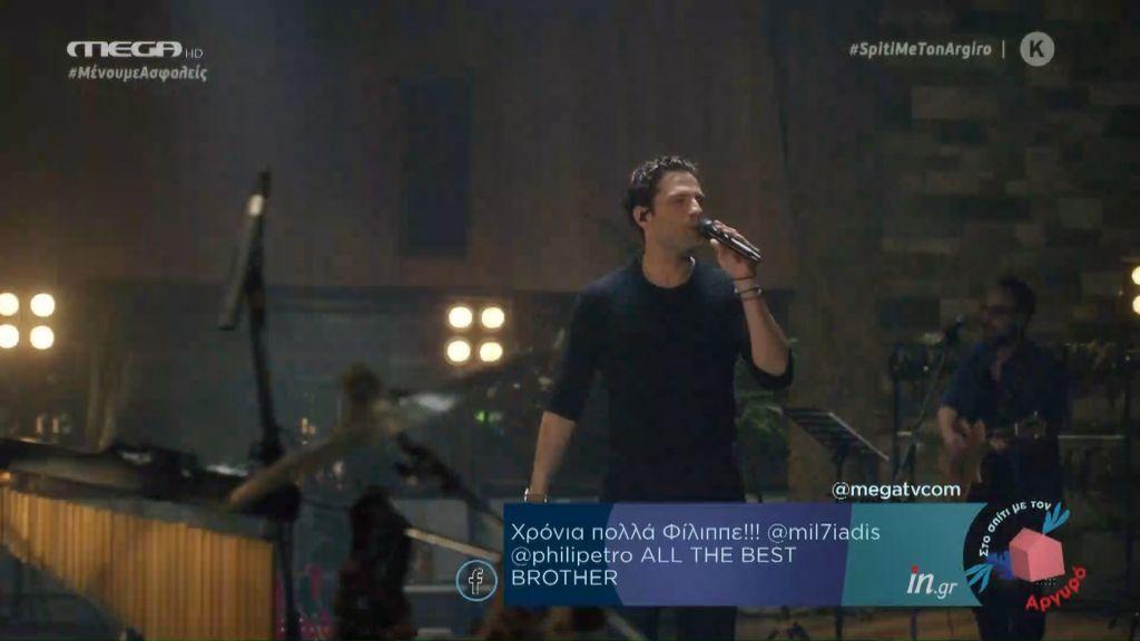 Κωνσταντίνος Αργυρός: Χαμός στα social media με τη μοναδική συναυλία στο MEGA