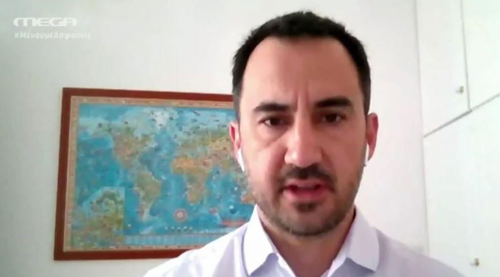 Χαρίτσης στο MEGA: Θετική εξέλιξη η συμφωνία Ελλάδας – Ιταλίας – Ανάγκη επέκτασης της αιγιαλίτιδας ζώνης στο Ιόνιο