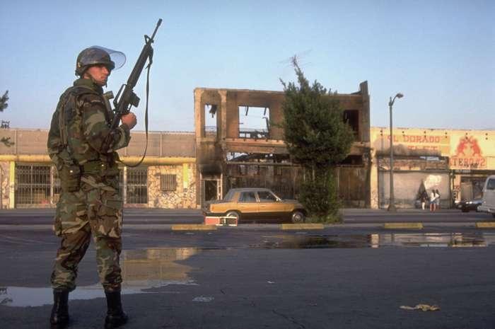 ΗΠΑ : Τι ισχύει όσον αφορά τη χρησιμοποίηση των ενόπλων δυνάμεων για την καταστολή των ταραχών