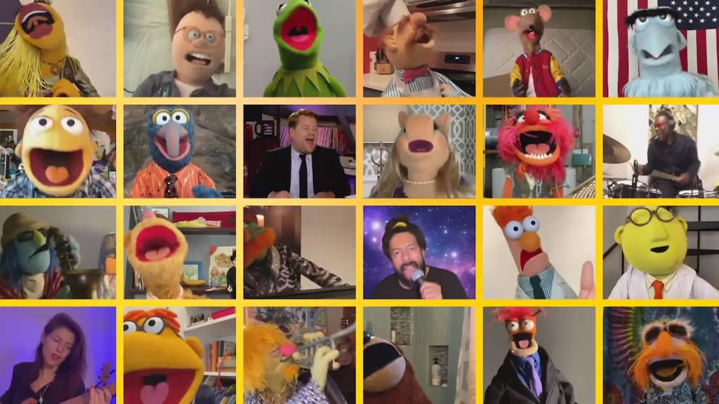 Ήρωες του Muppets Show ερμηνεύουν το «With a little help from my frieds» των Beatles