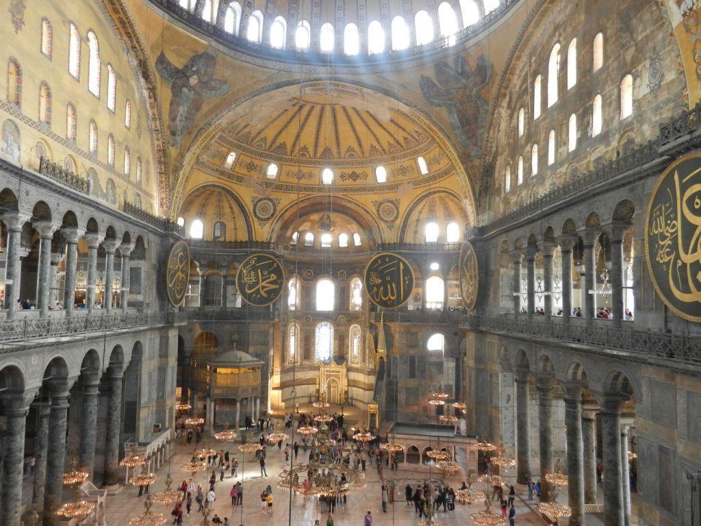 Απίστευτη αποκάλυψη τούρκου καθηγητή: Τι είναι κρυμμένο κάτω από την Αγία Σοφία | in.gr
