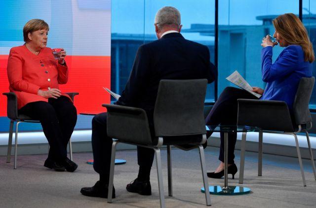 Μέρκελ : Ζούμε τη δυσκολότερη οικονομική κατάσταση στην ιστορία της Γερμανίας