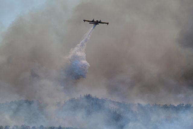 Πύρινα μέτωπα σε Ηλεία και Κεφαλονιά: Μεγάλη κινητοποίηση της Πυροσβεστικής – Ενισχύονται οι δυνάμεις