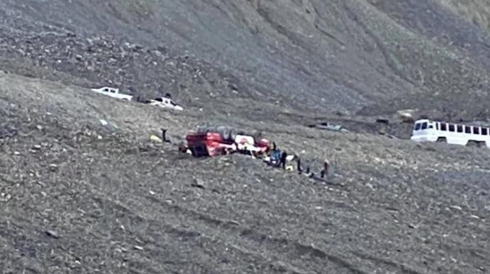 Τραγωδία στον Καναδά :  Τρεις νεκροί και αρκετοί τραυματίες από την ανατροπή τουριστικού λεωφορείου