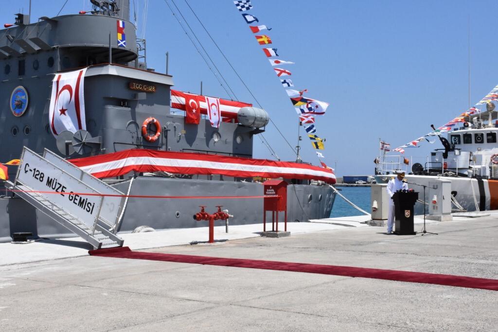 Νέα τουρκική πρόκληση: Μετέτρεψαν σε μουσείο το πλοίο απόβασης – Το εγκατέστησαν στην κατεχόμενη Κερύνεια