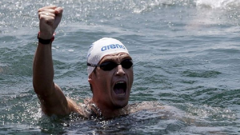 Παρουσία του Σπύρου Γιαννιώτη ο Αυθεντικός Μαραθώνιος Κολύμβησης στη Βόρεια Εύβοια