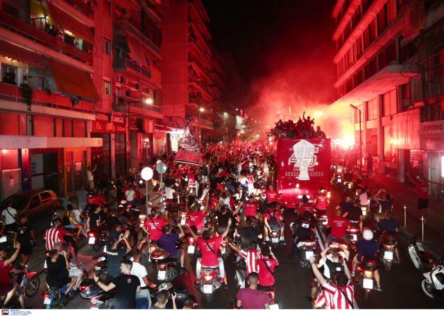 Τι έγινε στη μεγάλη γιορτή του Ολυμπιακού – Γιόρτασε ο Πειραιάς και όλη η Ελλάδα