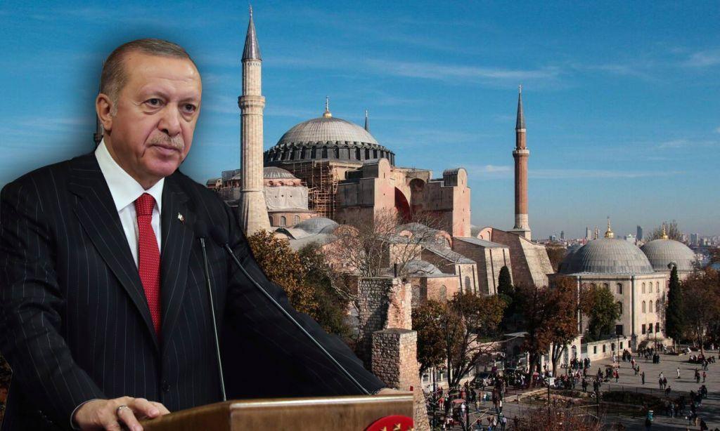 Προκλητικά «πυρά» Ερντογάν προς πάσα κατεύθυνση για Αγία Σοφία: Κανείς δεν μπορεί να παρεμβαίνει
