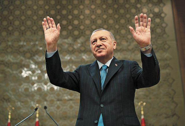 Νέα απειλή Ερντογάν: Θα υπερασπιστούμε τη Γαλάζια Πατρίδα έναντι εκείνων που εισέβαλαν στη Μικρά Ασία