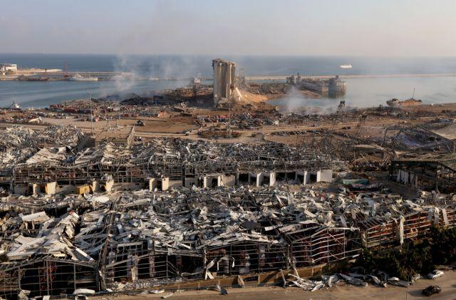 Βηρυτός: Σε κατάσταση έκτακτης ανάγκης – 135 οι νεκροί, 5.000 οι τραυματίες