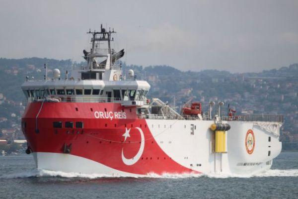 ImgSrc 2020 08 10T081619.348 3 600x400 - «Πόλεμος νεύρων» από την Άγκυρα με το Ορούτς Ρέις – Η «κόκκινη» γραμμή της Αθήνας στις τουρκικές προκλήσεις