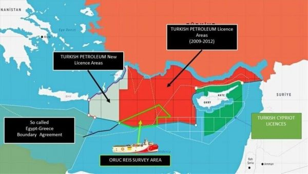 fggfsdgfdg 600x338 - «Πόλεμος νεύρων» από την Άγκυρα με το Ορούτς Ρέις – Η «κόκκινη» γραμμή της Αθήνας στις τουρκικές προκλήσεις
