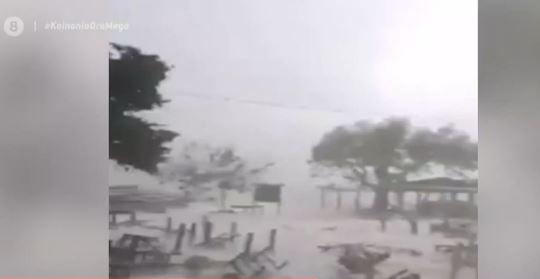 Ιανός : Χωρίς ρεύμα για τέταρτη μέρα η Ιθάκη – Μεγάλες καταστροφές