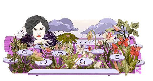 Mascha Kaléko : Η Google τιμά την πολωνή ποιήτρια με ένα doodle