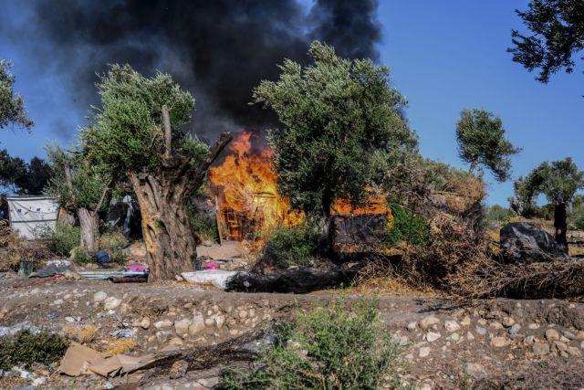 Νέα φωτιά στη Μόρια – Ολοκληρωτική καταστροφή του ΚΥΤ