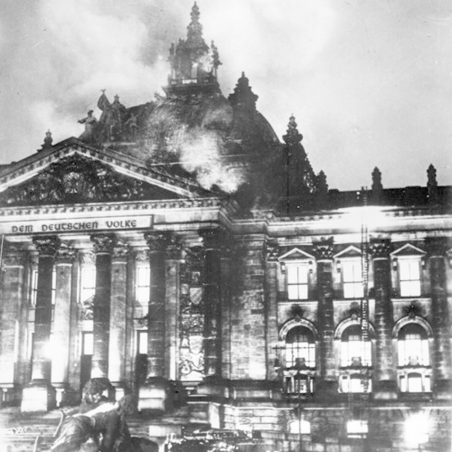 Ο εμπρησμός του Ράιχσταγκ: Η νύχτα «αποκάλυψης» του Χίτλερ