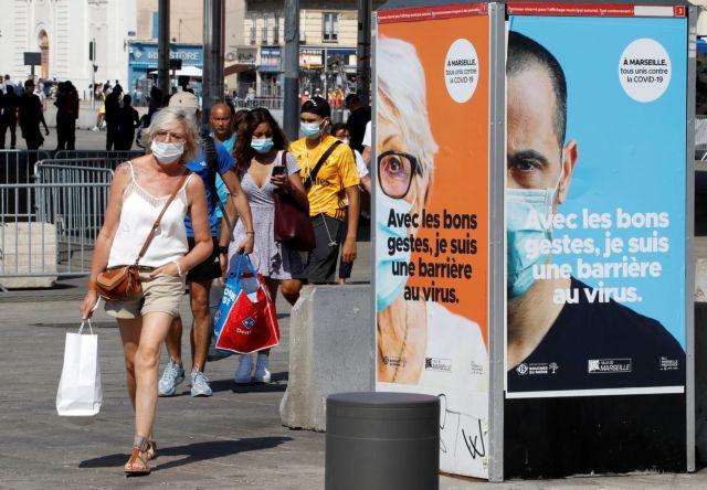 Γαλλία: Εξακολουθεί να «τρομοκρατεί» ο αριθμός των κρουσμάτων κοροναϊού