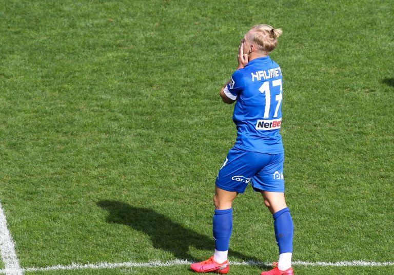 Το εντυπωσιακό γκολ του Νάουμετς στο «Κλεάνθης Βικελίδης»