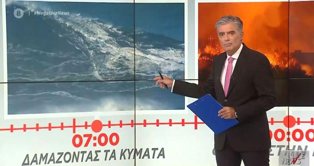 Mega : Πρωτιά στην τηλεθέαση για το Live News με τον Νίκο Ευαγγελάτο [πίνακες]