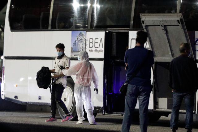 Μόρια : Έτσι μεταφέρθηκαν στη Θεσσαλονίκη τα 400 ασυνόδευτα προσφυγόπουλα