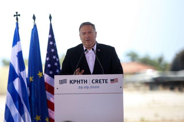 Πομπέο : Πυλώνας σταθερότητας η Ελλάδα – Οι σχέσεις μας βρίσκονται στο απόγειό τους