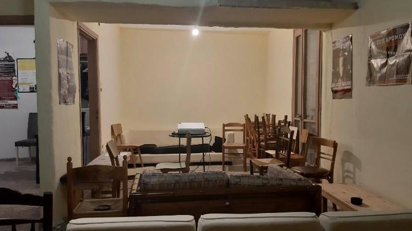 Φωτογραφίες από το κτίριο στο Παγκράτι που τελούσε υπό κατάληψη