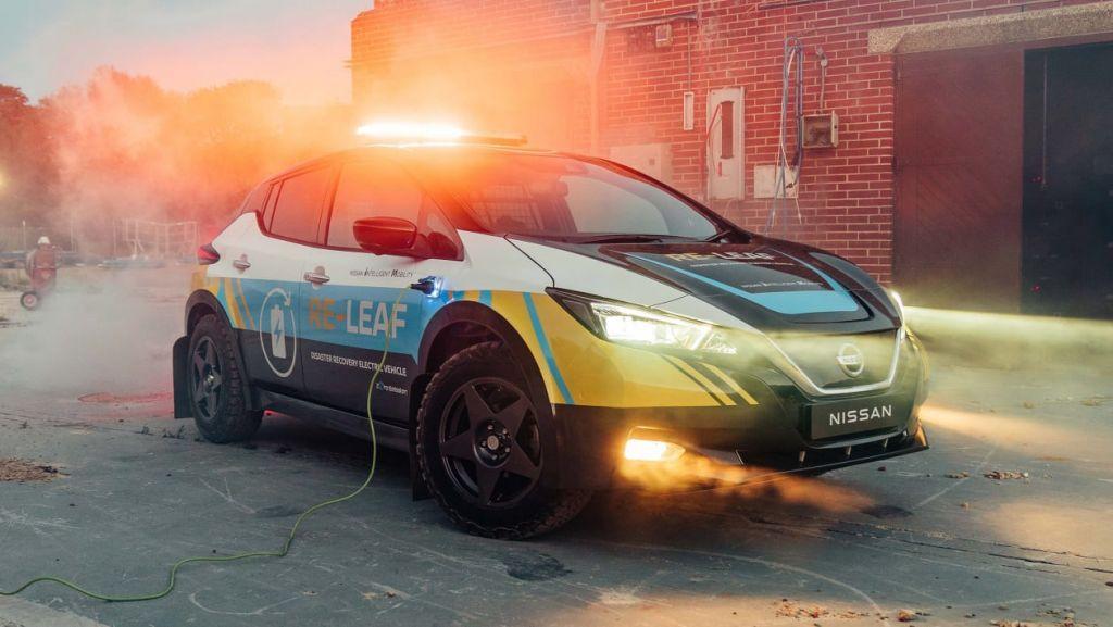 Nissan Re-Leaf: Power bank εκτάκτων αναγκών σε τέσσερις τροχούς
