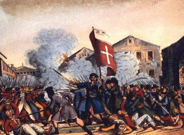23 Σεπτεμβρίου 1821 : Η άλωση της Τριπολιτσάς