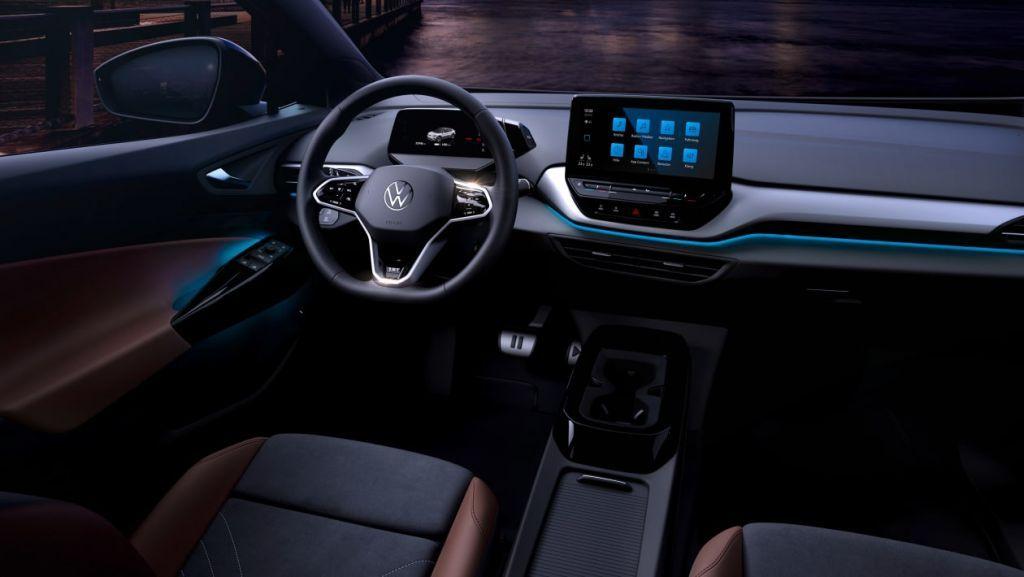 VW ID.4 2021: Στα ενδότερα