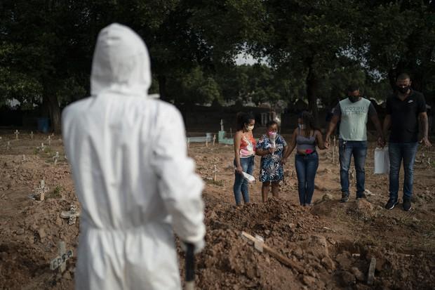 Βραζιλία – Κοροναϊός : 987 νεκροί και 36.820 κρούσματα το τελευταίο 24ωρο