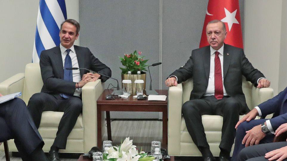 Στα «σκαριά» επικοινωνία Μητσοτάκη – Ερντογάν