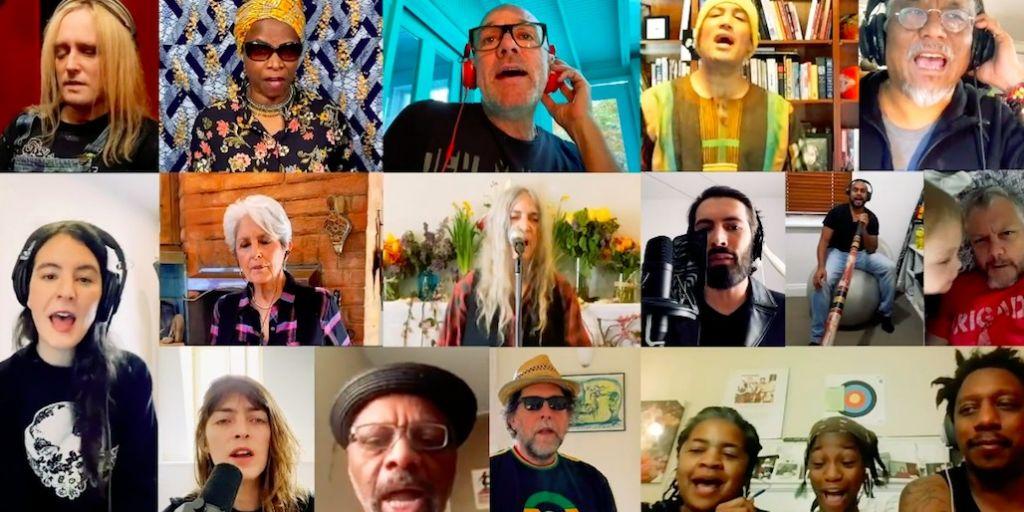 «People Have the Power» από Πάτι Σμιθ, Τζόαν Μπαέζ και Μάικλ Στάιπ για την κλιματική αλλαγή