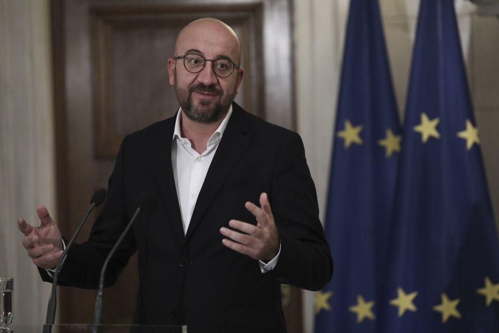 Σαρλ Μισέλ: Το ζήτημα της ασφάλειας στη Μεσόγειο αφορά όλη την ΕΕ