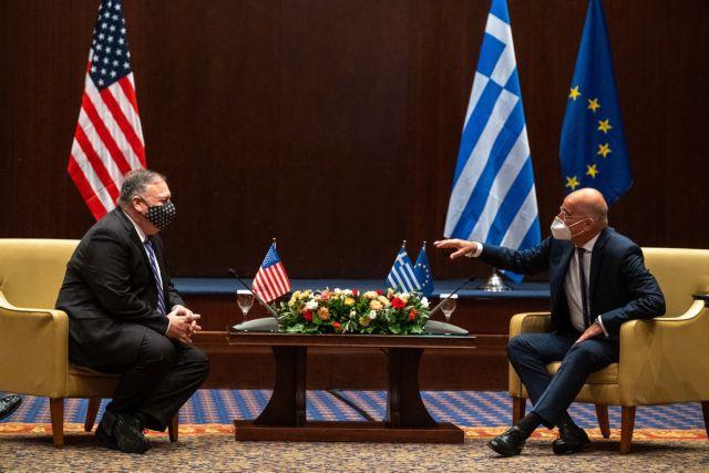 «Ζωτικός συνεργάτης των ΗΠΑ η Ελλάδα» – Τα πρώτα μηνύματα Πομπέο από τη Θεσσαλονίκη