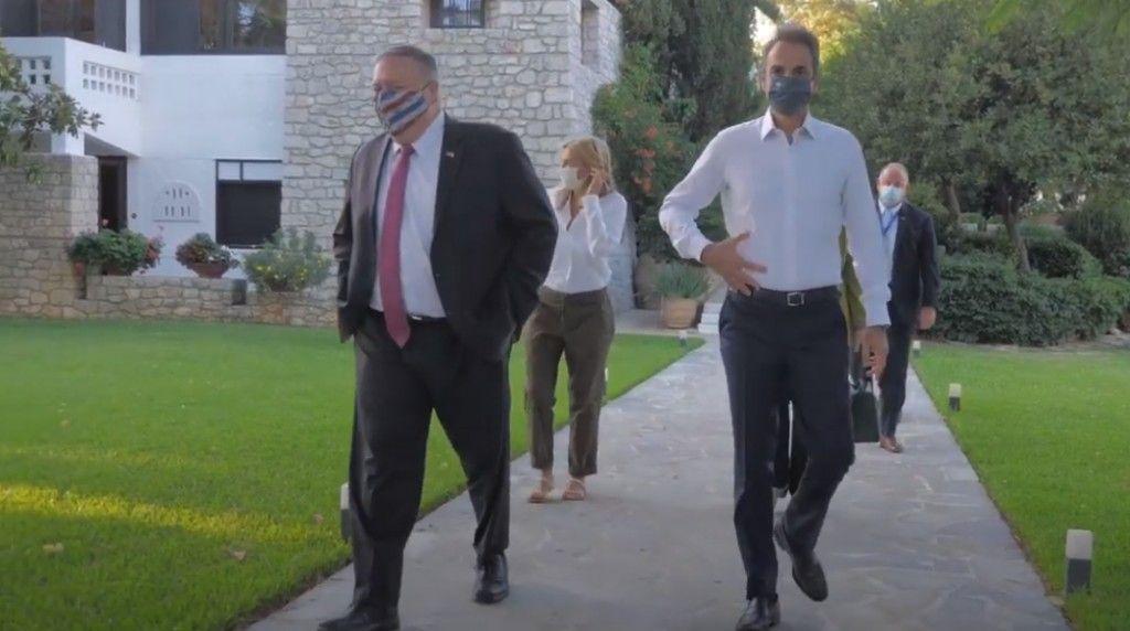 Αναχώρησε από τα Χανιά ο Πομπέο – «Χαιρετίζω το ρόλο της Ελλάδας ως πυλώνα σταθερότητας»