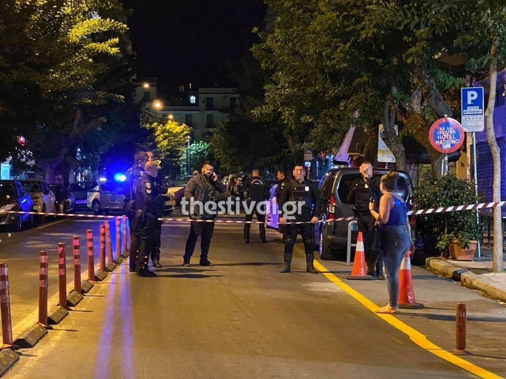 Αιματηρό επεισόδιο με πυροβολισμούς στο κέντρο της Θεσσαλονίκης