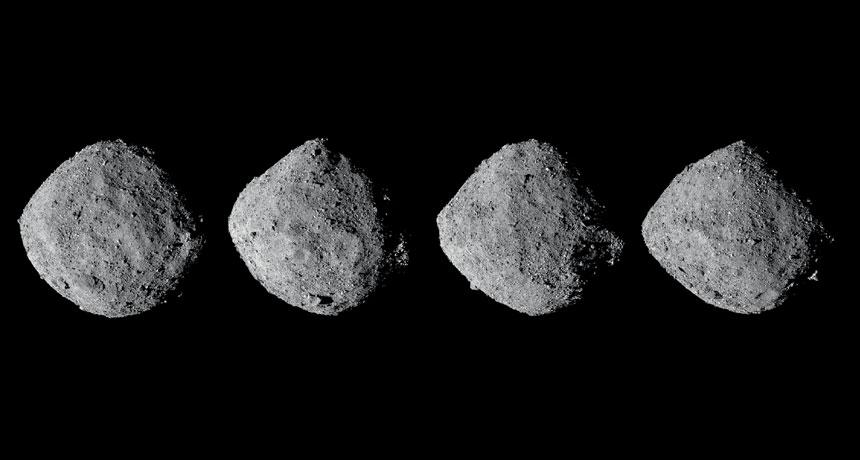 NASA: Ασφαλή τα πολύτιμα δείγματα του αστεροειδή Bennu