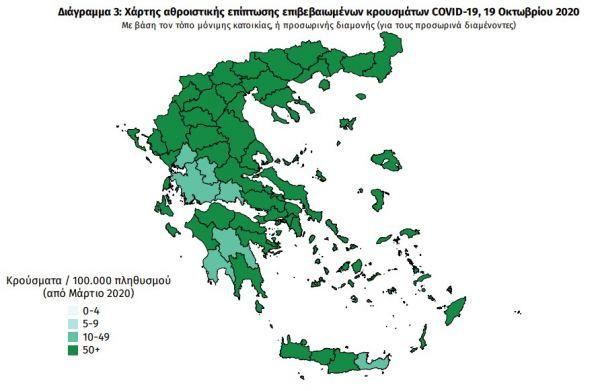 Κοροναϊός : 438 νέα κρούσματα και 11 θάνατοι – Στους 85 οι διασωληνωμένοι
