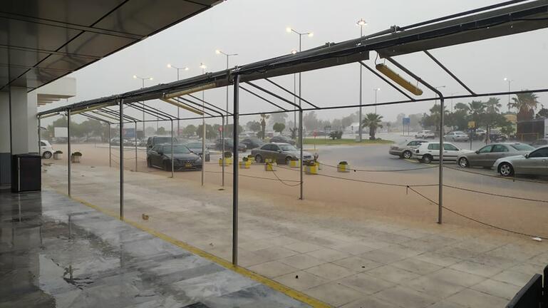 Κακοκαιρία : Αναστέλλεται προσωρινά η λειτουργία του αεροδρομίου Ηρακλείου