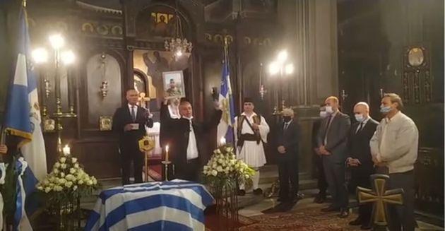 Μνημόσυνο Κατσίφα : Ακραία πρόκληση από οπαδό του φυλακισμένου Κασιδιάρη