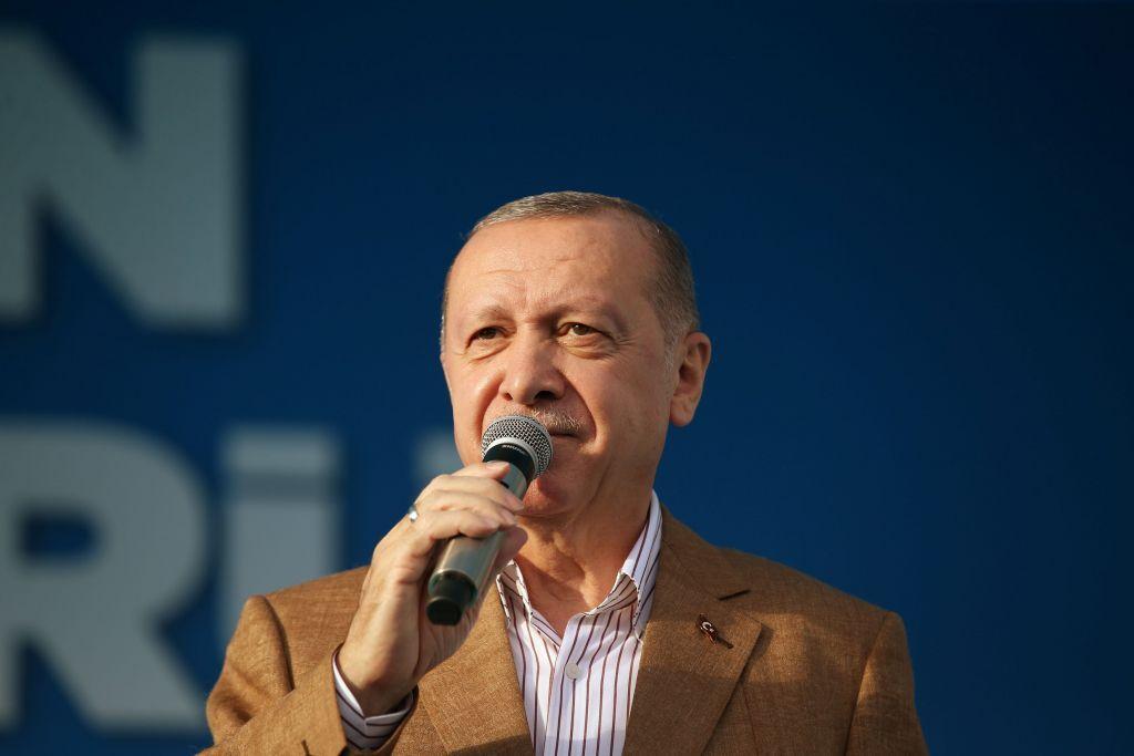 Ερντογάν : Έξαλλος με σκίτσο που τον δείχνει τρομοκράτη – «Ο φασισμός είναι δικό σας δημιούργημα, όχι δικό μας»