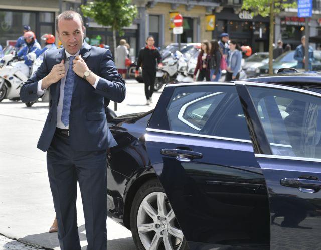 Βέμπερ : Πρέπει να τελειώσει η κλιμάκωση Ερντογάν – Όλες οι κυρώσεις διαθέσιμες