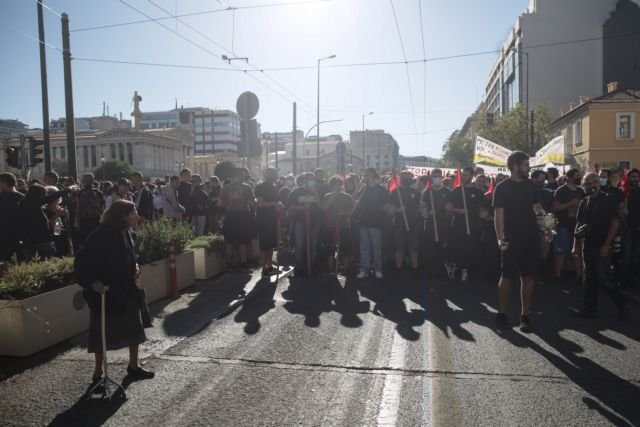 Απεργία ΑΔΕΔΥ : Επεισόδια στο κέντρο της Αθήνας