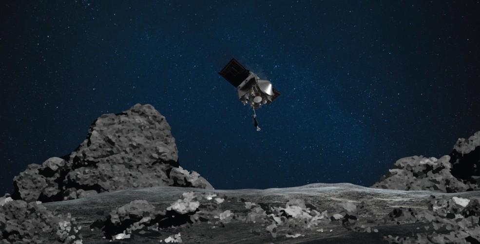 NASA: Το σκάφρος OSIRIS-REx κατάφερε να «αγγίξει» τον αστεροειδή Μπενού