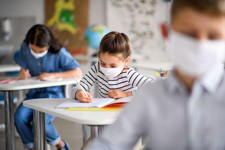Σχολεία - Βοιωτία : Μάσκα και στα διαλείμματα σε «πορτοκαλί» και «κόκκινες» περιοχές