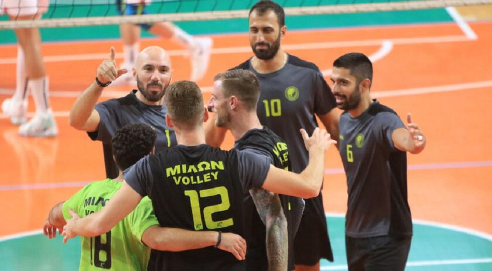 Volley League : Δεύτερο κρούσμα στον Μίλωνα, κανονικά το παιχνίδι με ΠΑΟΚ