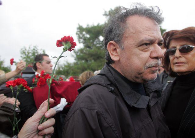 Νίκος Μπελογιάννης : Ο αποχαιρετισμός της Λίνας Μενδώνη