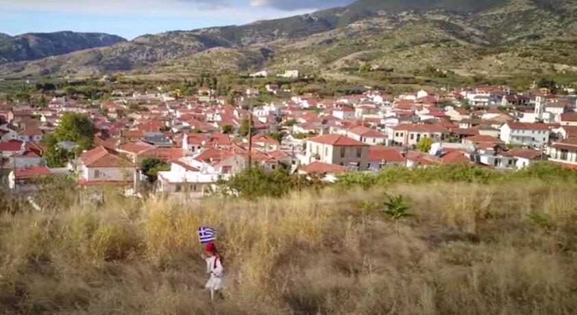 28η Οκτωβρίου : Στις Σέρρες μία παρέα μαθητών παρέλασαν μόνοι τους σε ένα βουνό