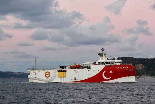 Oruc Reis : Εντός της ελληνικής υφαλοκρηπίδας το τουρκικό ερευνητικό