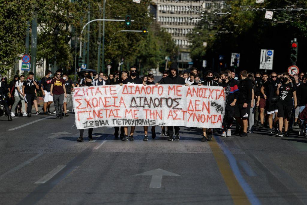 Δήμος Χαλανδρίου : Στο πλευρό του 14χρονου μαθητή που συνελήφθη στο συλλαλητήριο της Πέμπτης